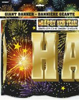 Happy New Year Giant Banner